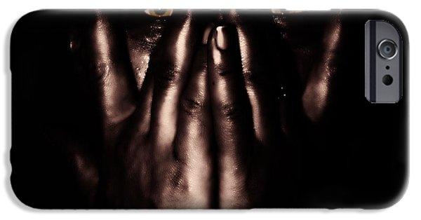 Problems iPhone Cases - Not My Dark Soul.. iPhone Case by Stylianos Kleanthous