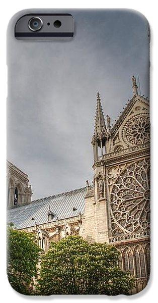 Notre Dame de Paris iPhone Case by Jennifer Lyon