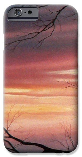 Tree Art Print iPhone Cases - November Lace 1 iPhone Case by Hanne Lore Koehler