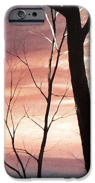 Tree Art Print iPhone Cases - November Lace 2 iPhone Case by Hanne Lore Koehler