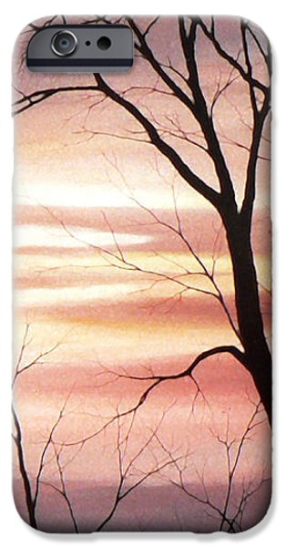 Tree Art Print iPhone Cases - November Lace 3 iPhone Case by Hanne Lore Koehler