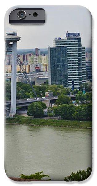 Novy Most Bridge - Bratislava iPhone Case by Jon Berghoff