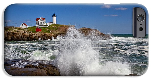Recently Sold -  - Nubble Lighthouse iPhone Cases - Nubble Lighthouse iPhone Case by Robert Clifford