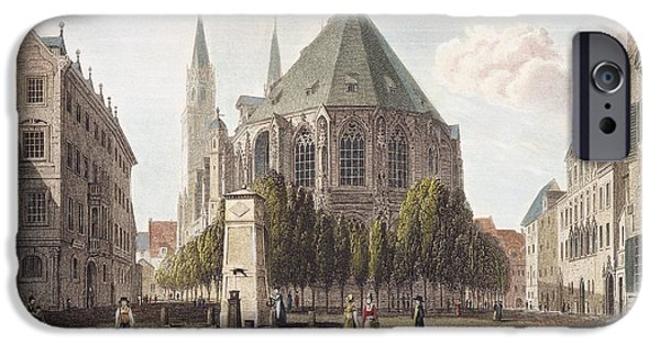 1839 iPhone Cases - Nuremberg, Germany, 1839 iPhone Case by Granger