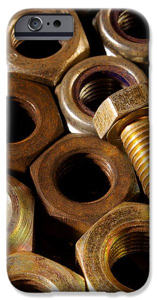 Nuts and Screw iPhone Case by Carlos Caetano
