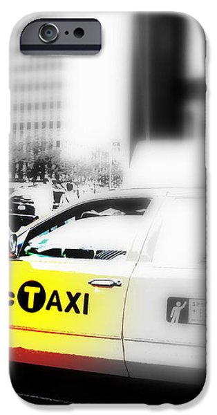 NYC Cab iPhone Case by Funkpix Photo Hunter