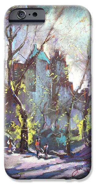 NYC Central Park Controluce iPhone Case by Ylli Haruni