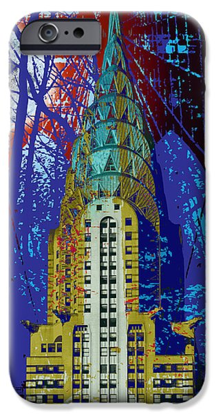 NYC Icons iPhone Case by Gary Grayson