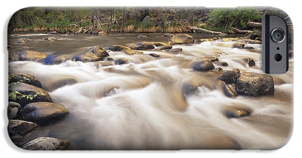 Oak Creek iPhone Cases - Oak Creek At Grasshopper Point Sedona iPhone Case by Tim Fitzharris