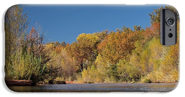 Oak Creek iPhone Cases - Oak Creek Reflection iPhone Case by Joshua House