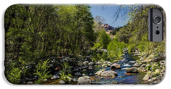 Oak Creek iPhone Cases - Oak Creek iPhone Case by Robert Bales