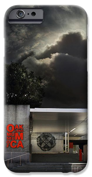 Oakland Museum of California . 7D13039 iPhone Case by Wingsdomain Art and Photography