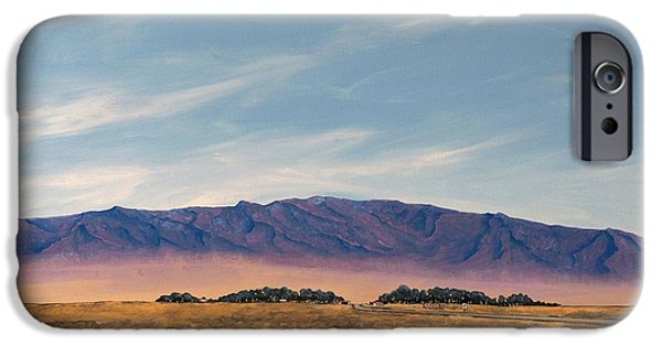 Sw New Mexico iPhone Cases - Oasis iPhone Case by Kerry Beverly