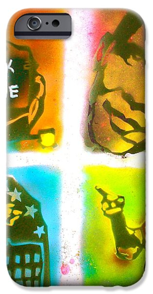 Obama Squared iPhone Case by TONY B CONSCIOUS