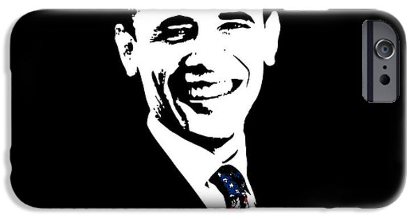 Obama iPhone Cases - Obama iPhone Case by War Is Hell Store