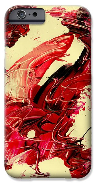 Swiss Mixed Media iPhone Cases - Observe Yourself iPhone Case by Manuel Sueess