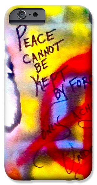 Occupy Einstein iPhone Case by TONY B CONSCIOUS
