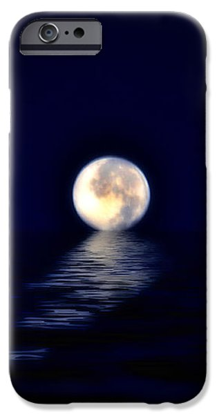 Ocean Moon iPhone Case by Bill Cannon