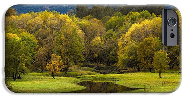 Creek Photographs iPhone Cases - October Serenity iPhone Case by Mike Reid