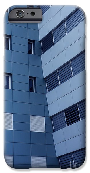 Enterprise iPhone Cases - Office Building iPhone Case by Carlos Caetano