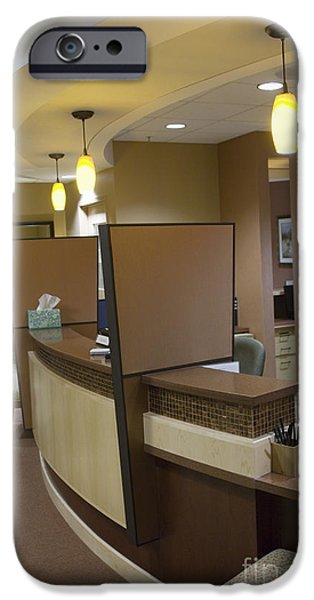 Office Reception Area iPhone Case by Andersen Ross