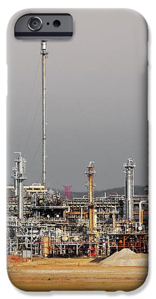 Oil Refinery iPhone Case by Carlos Caetano