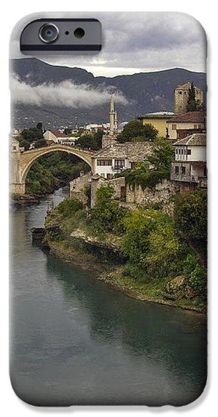 Old Bridge of Mostar iPhone Case by Ayhan Altun
