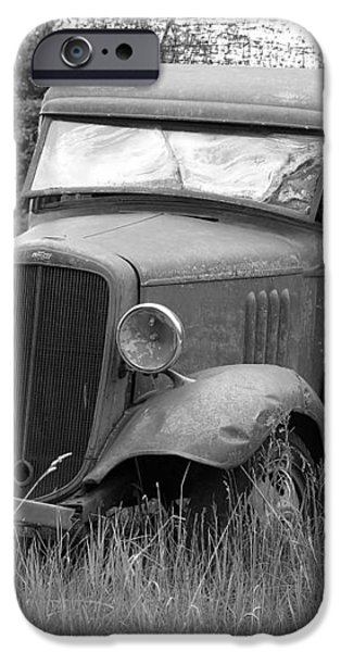 Old Chevy Truck iPhone Case by Steve McKinzie