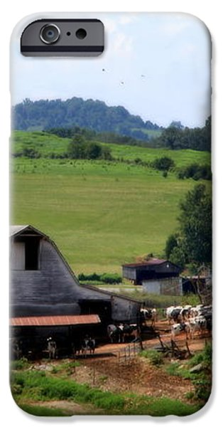 Old Dairy Barn iPhone Case by KAREN WILES