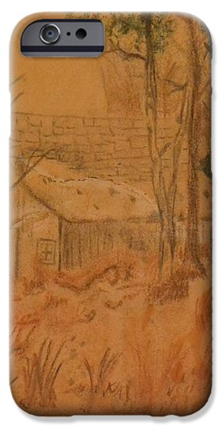 Old Farm iPhone Case by Carman Turner