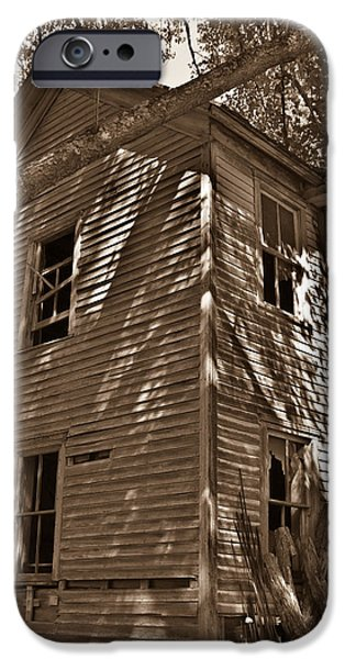 West Fork iPhone Cases - Old Farmhouse in Summertime iPhone Case by Douglas Barnett