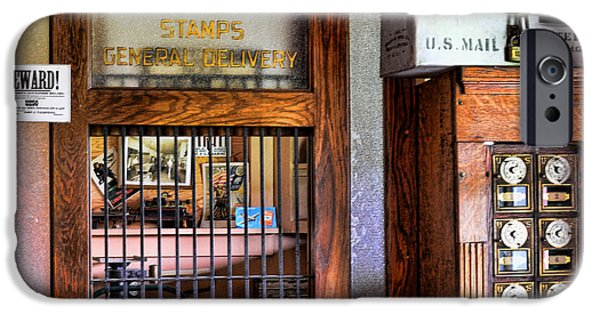 Fed Photographs iPhone Cases - Old Fashion Post Office iPhone Case by Paul Ward