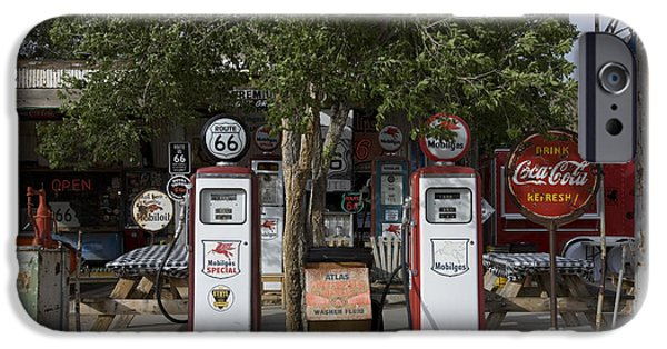 2009 iPhone Cases - Old Gas Pumps, 2009 iPhone Case by Granger