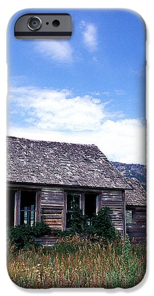 Old House in Idaho iPhone Case by Kathy Yates