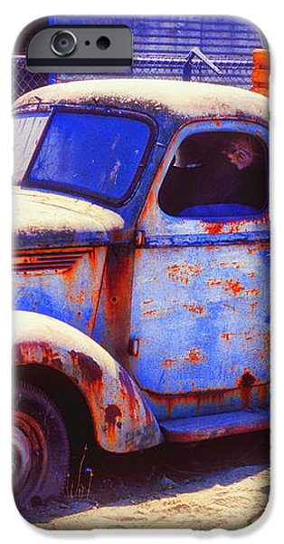 Old junk truck iPhone Case by Garry Gay