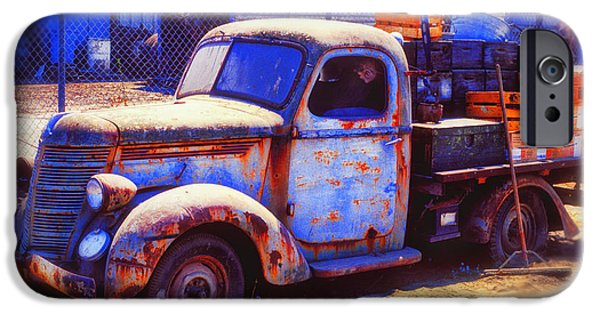 Truck iPhone Cases - Old junk truck iPhone Case by Garry Gay