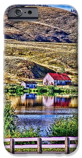 Building iPhone Cases - Old Merritt Farm HDR iPhone Case by Randy Harris