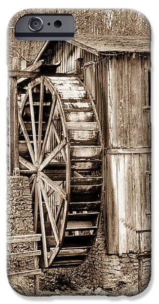 Old Mill in Sepia iPhone Case by Douglas Barnett