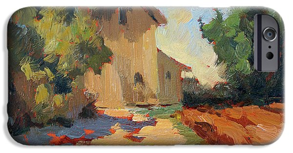 Old Mills iPhone Cases - Old Mill Provence iPhone Case by Diane McClary