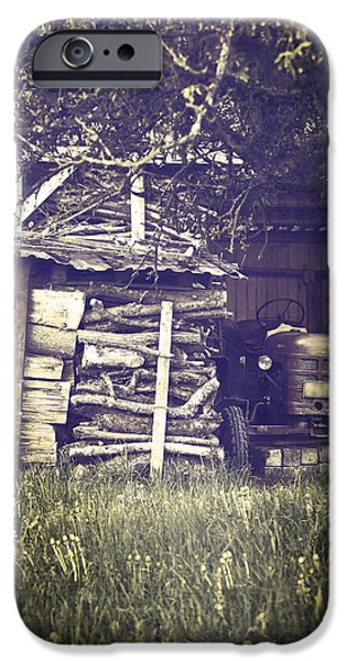 Shed iPhone Cases - Old Shed iPhone Case by Joana Kruse