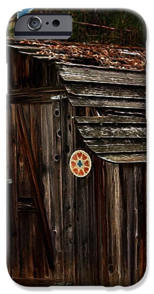 Old Shed Oakhurst iPhone Case by Marjorie Imbeau