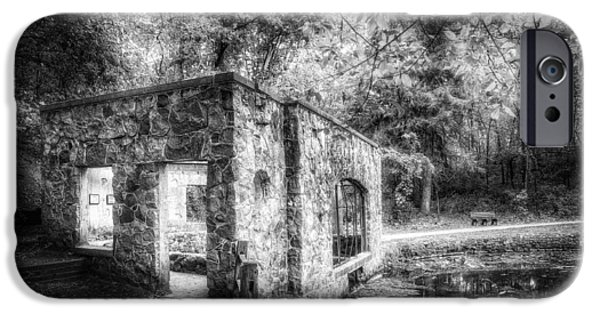 Forest iPhone Cases - Old Spring House iPhone Case by Scott Norris