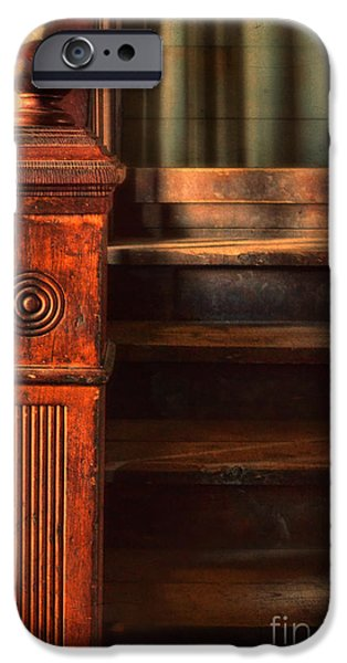 Old Staircase iPhone Case by Jill Battaglia