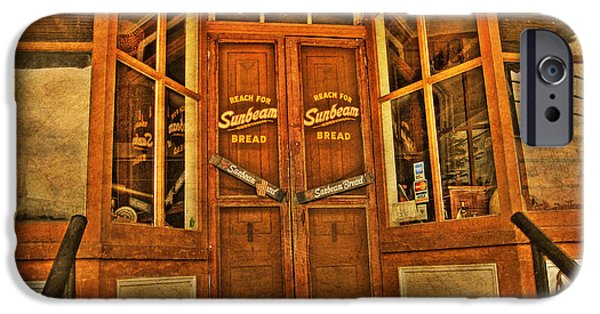 Store Fronts iPhone Cases - Old Store front iPhone Case by Todd Hostetter