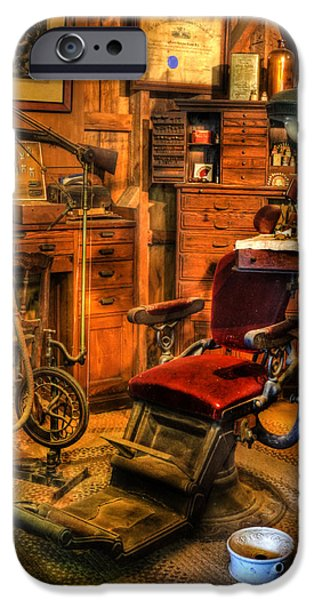 Best Sellers -  - Work Tool iPhone Cases - Old Time Dentist Office -  dentistry -  surgery - II iPhone Case by Lee Dos Santos