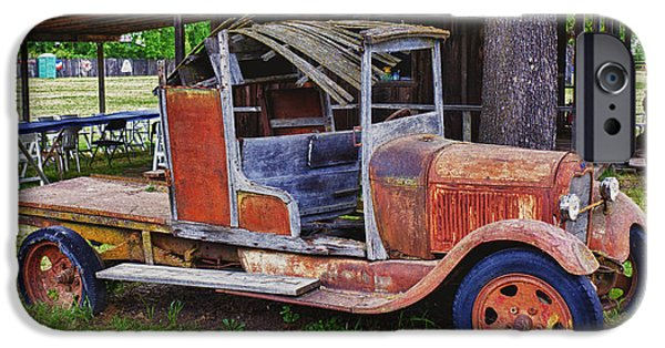 Truck iPhone Cases - Old timer iPhone Case by Garry Gay