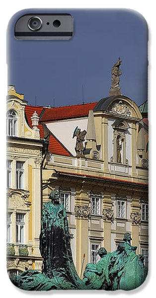 Old Town Square in Prague iPhone Case by Christine Till