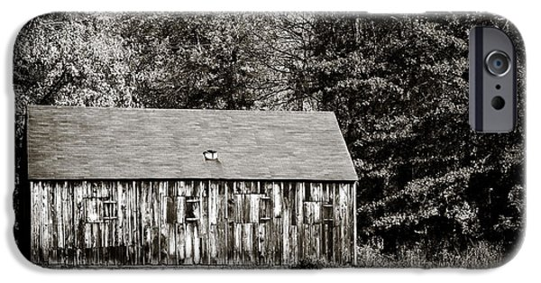 Historic Site iPhone Cases - Old Towne Barn iPhone Case by John Rizzuto