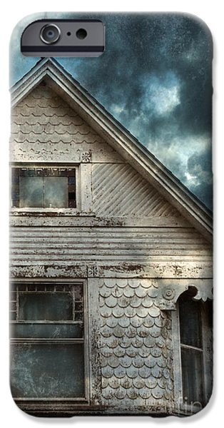 Old Victorian House Detail iPhone Case by Jill Battaglia