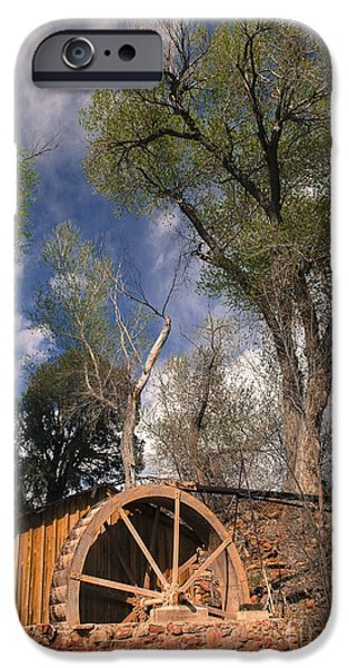 Old West Water Mill 1 iPhone Case by Darcy Michaelchuk